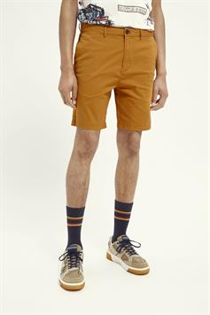 scotch & soda heren short stuart- classic pima cotton short 160726