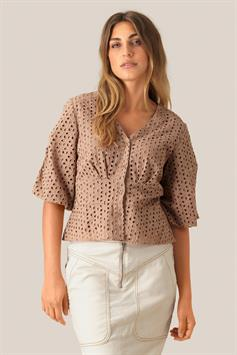 second female dames blouse milly ss blouse 53287