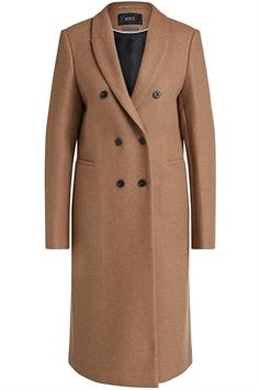 set dames jas classic fitted wool coat 71034