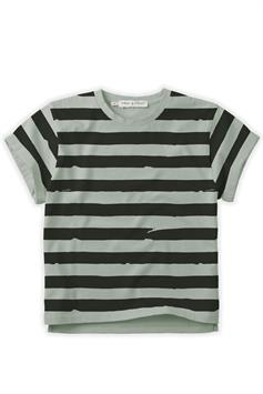 sproet & sprout kids t-shirt korte mouw painted stripe s21-700