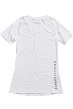superdry dames t-shirt korte mouw training essential tee ws310416a