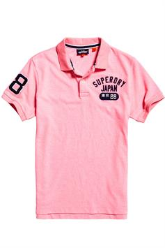superdry heren polo classic superstate s/s polo m1110008a