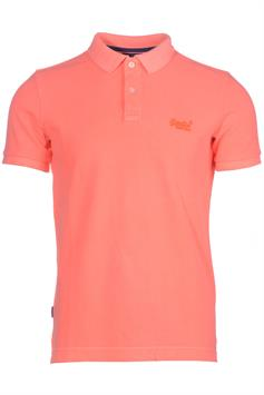 superdry heren polo vintage destroyed s/s pique polo m1110014a