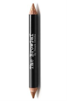 the browgal highlighter pencil double ended shimmer/matte bronze/toffee 03