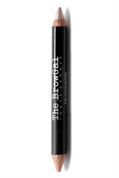 the browgal highlighter pencil double ended shimmer/matte champagne/cherub 01