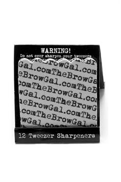 the browgal pincet slijpers tweezer sharpeners 12 st.