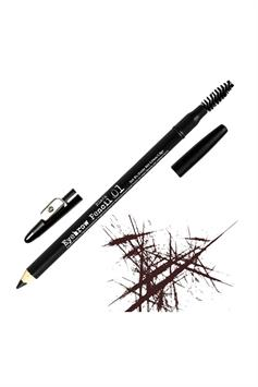 the browgal skinny eyebrow pencil black 01