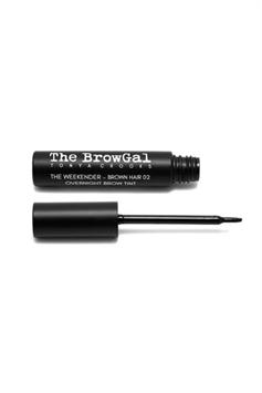 the browgal the weekender overnight brown hair brow tint 02 8 ml