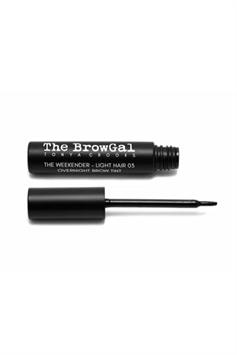 the browgal the weekender overnight light hair brow tint 03 8 ml