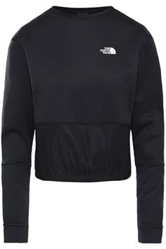 the north face dames cropped sweater w tnl pullover nf0a4svz