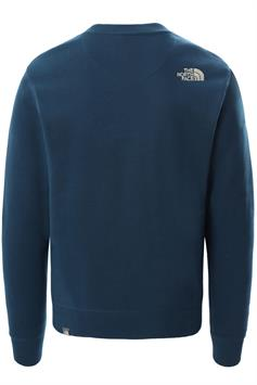 the north face heren sweater m drew peak crew l t nf0a4t1ed