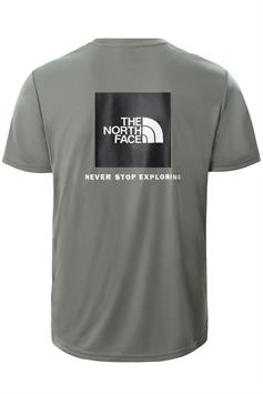 the north face heren t-shirt korte mouw m reaxion red box tee nf0a4cdw