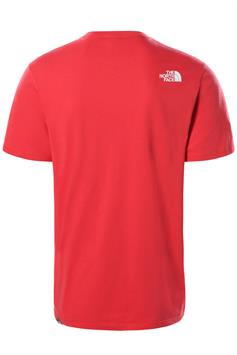the north face heren t-shirt korte mouw m s/s easy tee-eu nf0a2tx3fn41