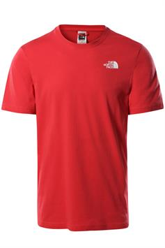 the north face heren t-shirt korte mouw m s/s red box tee nf0a2tx2v3q1