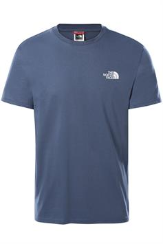 the north face heren t-shirt korte mouw m s/s simple dome tee nf0a2tx5