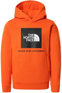 the north face jongens hoodie y box p/o hoodie nf0a4ma5a6m1