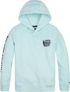 tommy hilfiger jongens sweater th cool graphic hoodie kb0kb06575