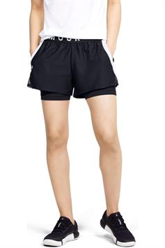 under armour dames short play up 2-in-1 shorts 1351981-001