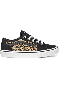 vans dames sneakers filmore decon (cheetah) black/white vn0a45nm36i1