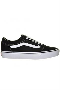 vans dames sneakers ward (suede/canvas) black/white vn0a3iuniju1