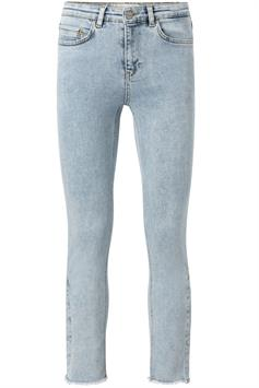 yaya dames jeans straight jeans with buttons 120119-014